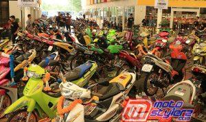 Motocontez by B'CAC Cikarang-Dikemas Nyentrik Bareng 131 Maskot Trendi