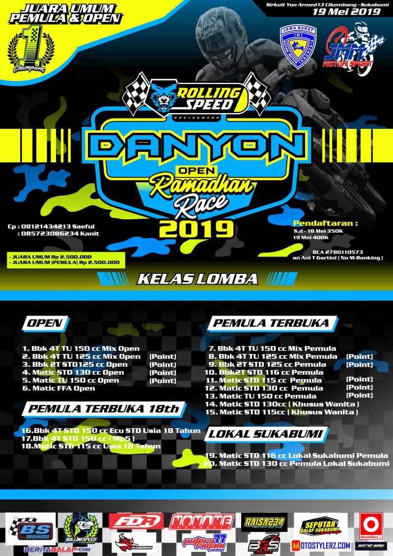 2019 Mei 19 - Rolling Speed Danyon Open Ramadhan Race 2019 - Sukabumi