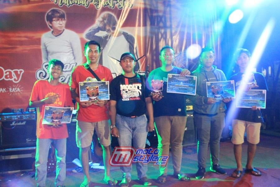 Peraih Best Modify-Diserahkan Bpk Aris Fitriono Amd.Kep (Kades) di Salah Satu Kabupaten Tulang Bawang