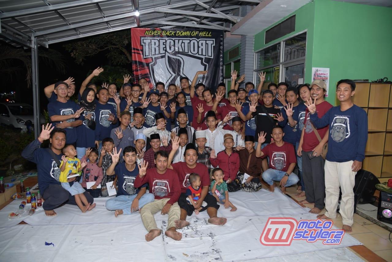 Ultah 4 Tahun Trecktort Store-Dihadiri Keluarga Republik Pembodohan & Yatim Piatu