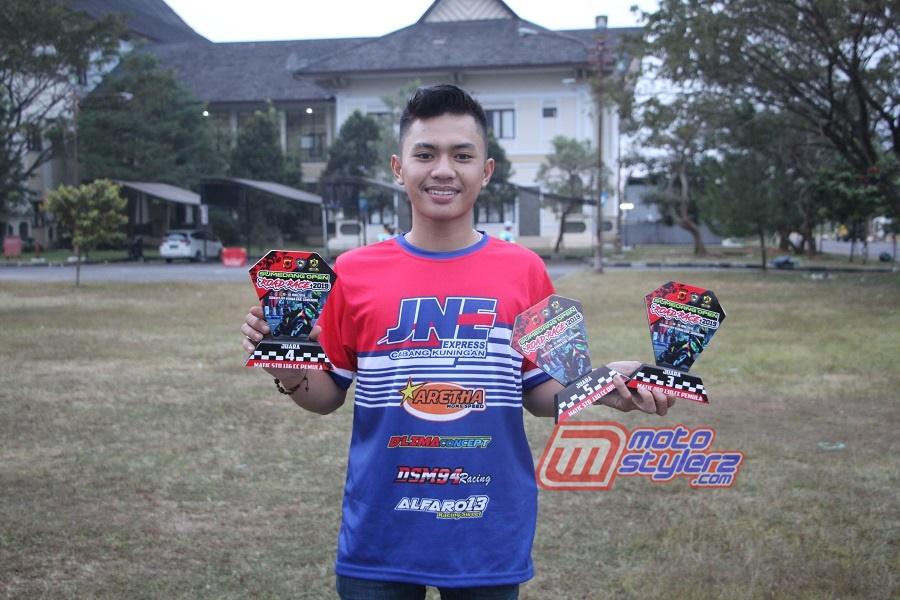 M Revaldi Dwiana-Pembalap Kuningan Yang Sukses Boyong 3 Tropi