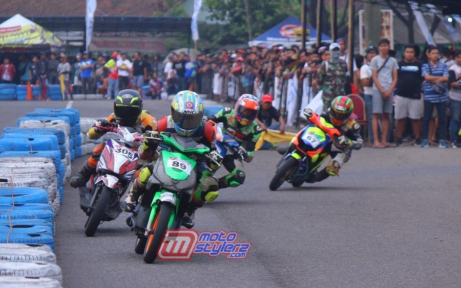 Anony Master Road Race Championship-Jadi Pestanya Pembalap Kalbar