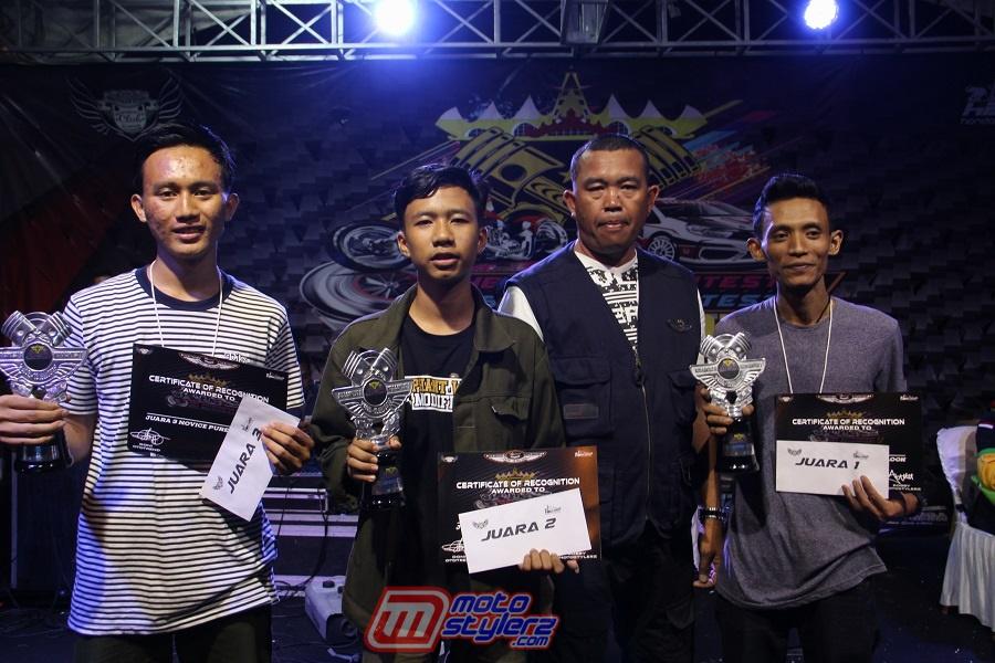 Juara Novice Thailook-Kian Favorit Jadi Tema Peserta Motocontez