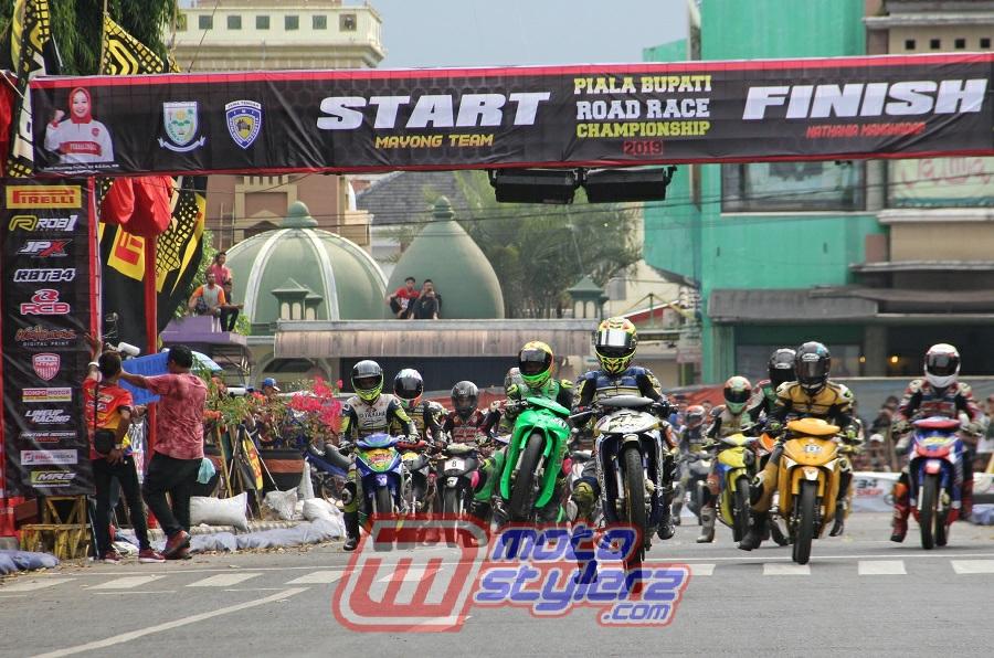 Road Race Purbalingga-Bergengsi Bareng Piala Bupati