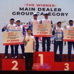 Podium AH-SRIC Medan-Diikuti 20 Tim Instruktur Grup Main Dealer Sepeda Motor Honda Se Indonesia