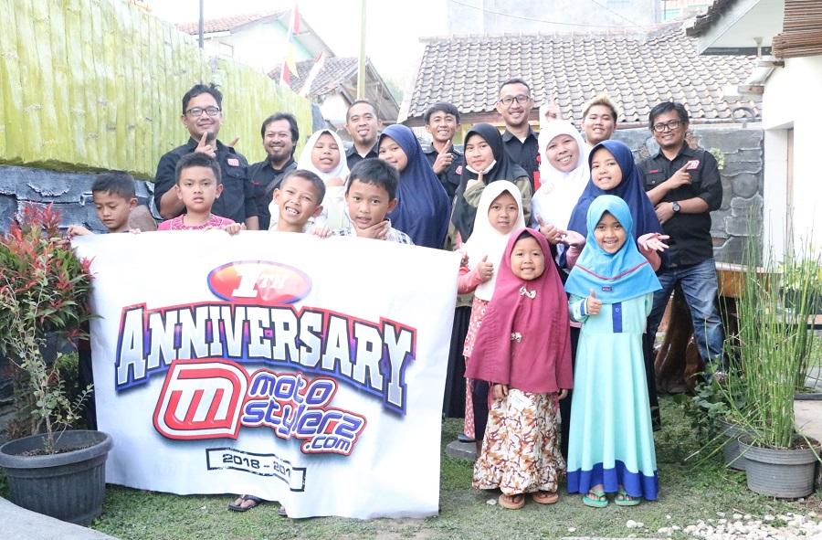 Santunan Yayasan Daarul Husna-Jadi Agenda Wajib Ultah Pertama Motostylerz