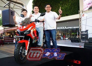 Launching Honda ADV150-Dihadiri General Manager Motorcycle Sales, Marketing & Logistic DAM Lerri Gunawan,Denny Budiman & Fenny Hasibuan