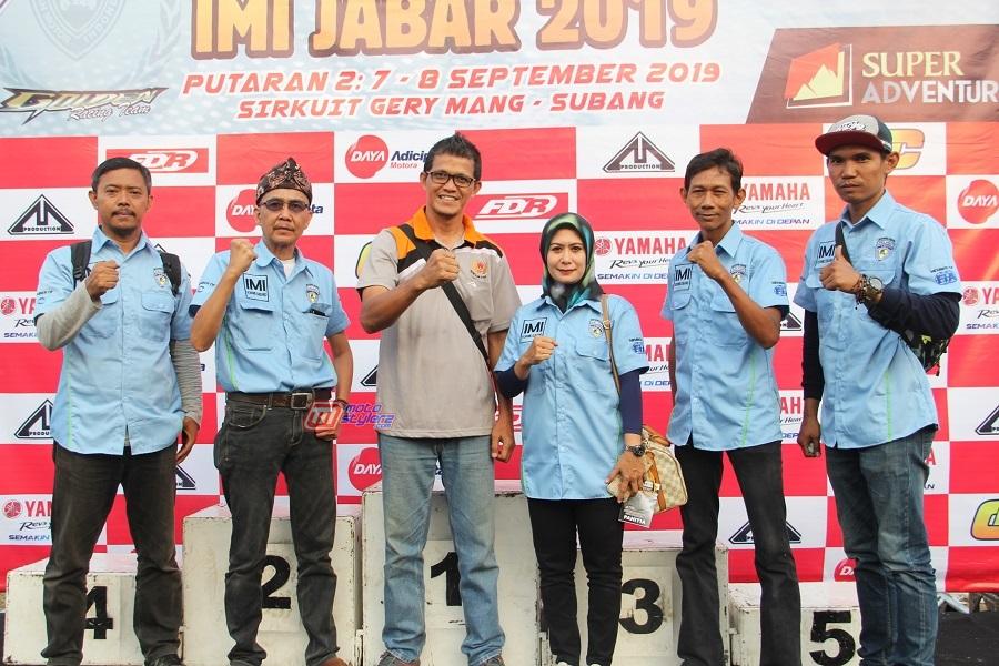 Pengurus IMI Korwil Subang-Kompak Sajikan Gelaran Meriah Di Sirkuit Gery Mang Subang