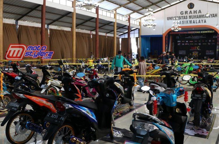 Mechanical Festival Contest-Disukseskan 70 Maskot Kece Modifstylerz Jawa Barat