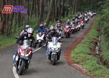 Blind Ride-Diikuti 50 Peserta, Buktikan Keunggulan Teknologi Canggi Honda ADV 150 & Honda PCX 150