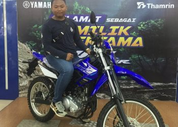 Raka Andre Aprian-Bangga Menjadi Konsumen Pertama WR 155R Sumatera Selatan