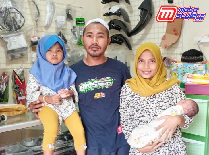 Danang DAP Art & Istri-Kian Bahagia Bareng 2 Putri Cantik