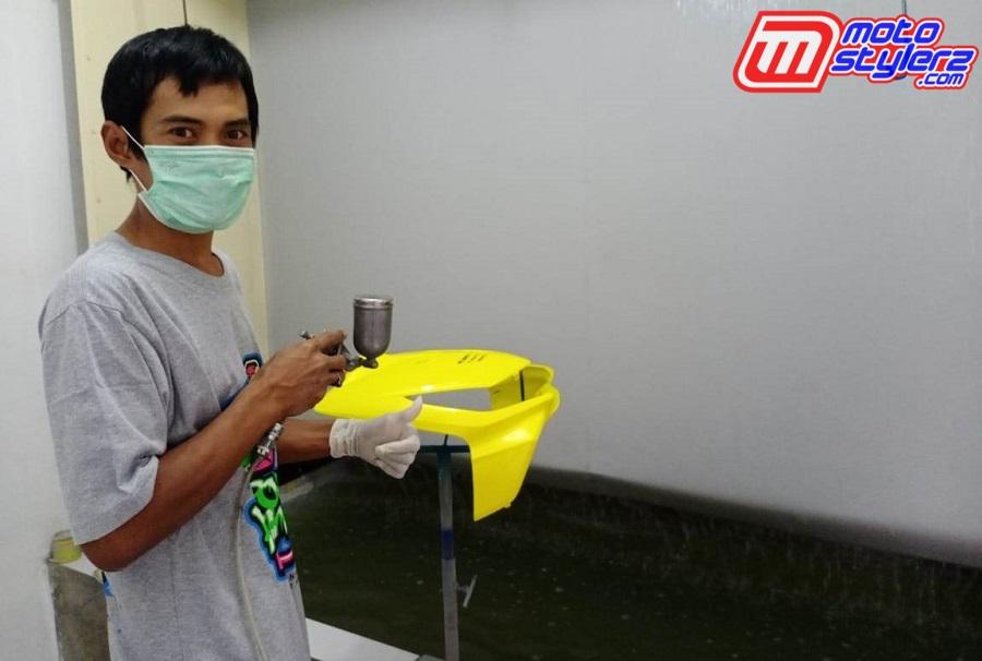 Dilengkapi Ruangan Custom Spray Booth-Hasil Kian Yahud