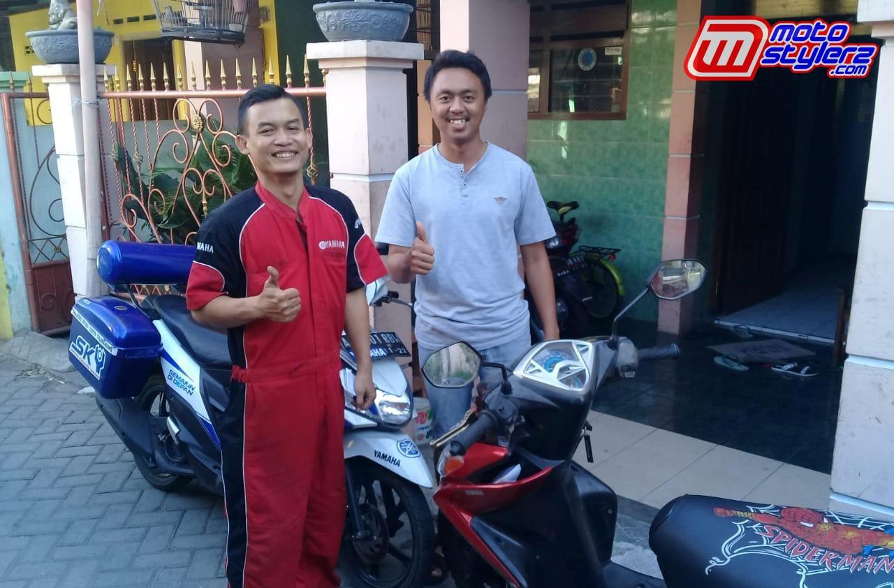 Konsumen Yamaha-Puas Bareng Pelayanan SKY
