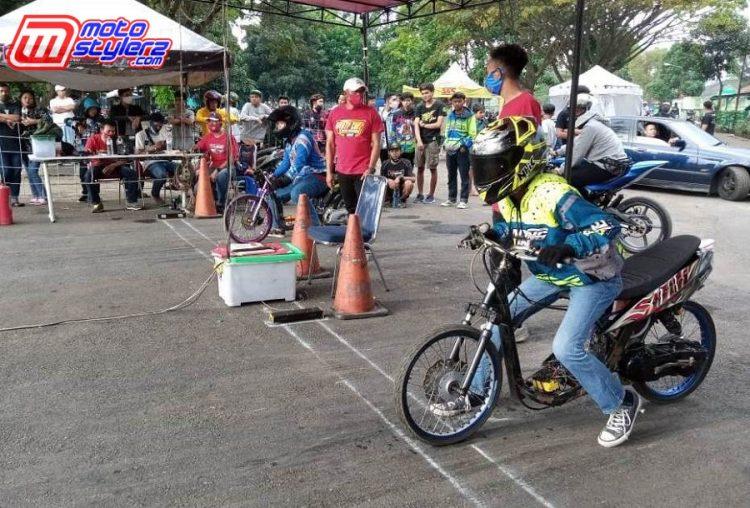 Latihan Drag Bike-Pesertanya Mayoritas Dari Bandung Raya