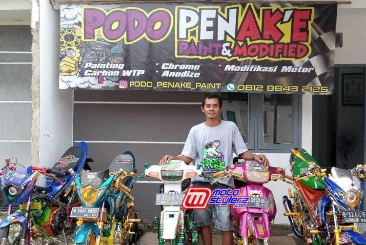 Supriyono (Owner Podo Penak'e Paint & Modified)-Resmi Pindah Workshop Baru
