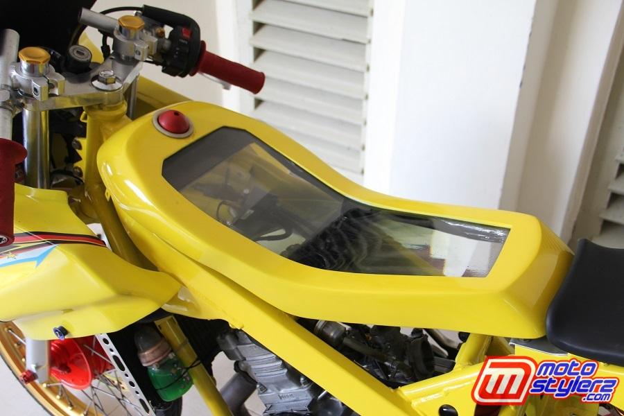 Tangki-Comot Yang Slim, Auranya Lebih Racing