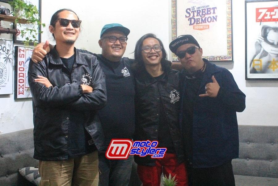 4 Pendiri Street Demon Indonesia