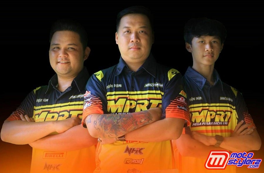 Ageng Dwi (Manager), Rudy Sugianto (Owner), Aldy Musfiq (Pembalap)