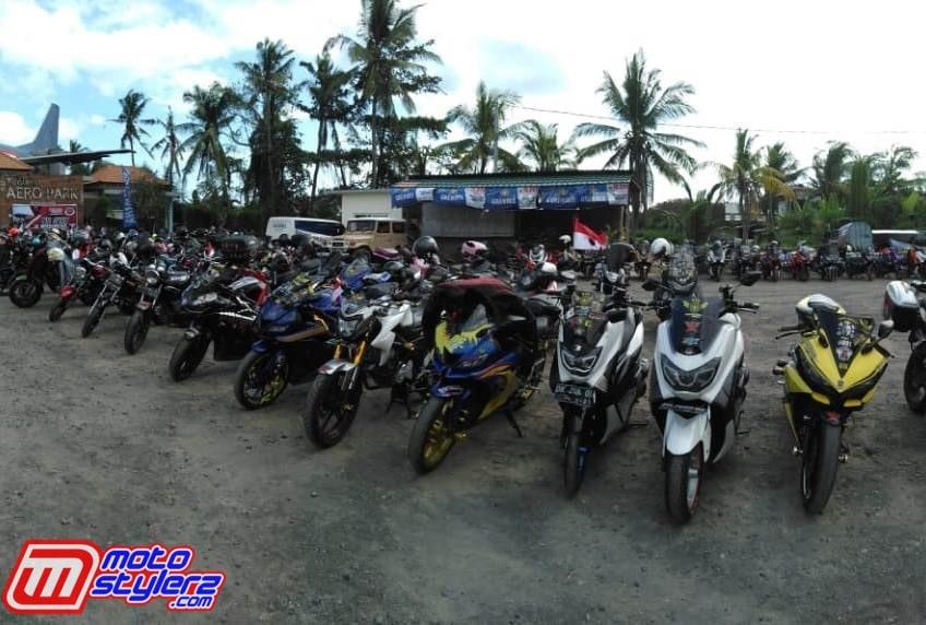 Peserta Touring-Sukses Diikuti 21 Club Yamaha