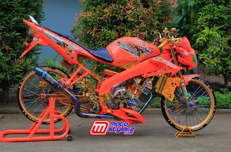 Vixion-Menggoda Berpakem Rookies Racing