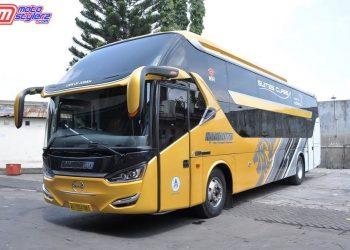 Bus Hino Suite Class PO Handoyo-Siap Jadi Transportasi Andalan Masyarakat Indonesia