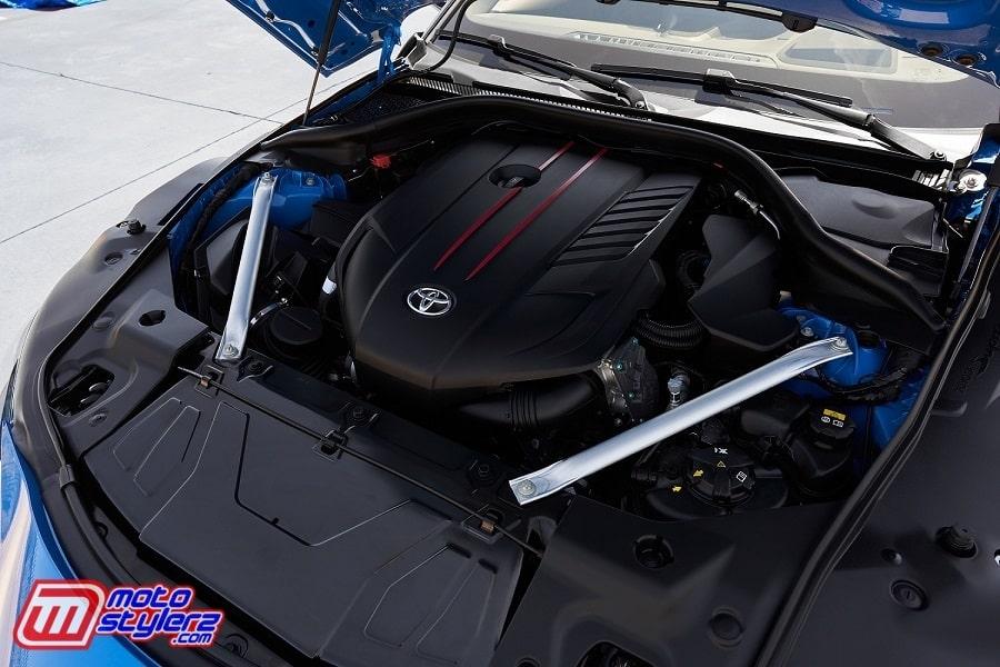 Engine New GR Supra-Tenaga Kian Maksimal Hingga 387 PS Pada Putaran Mesin 5.800GÇô6.500 RPM