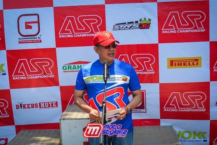 H. Bambang Soesatyo (Bamsoet)-Mendukung Penuh ASR Racing Championship (Sentul)