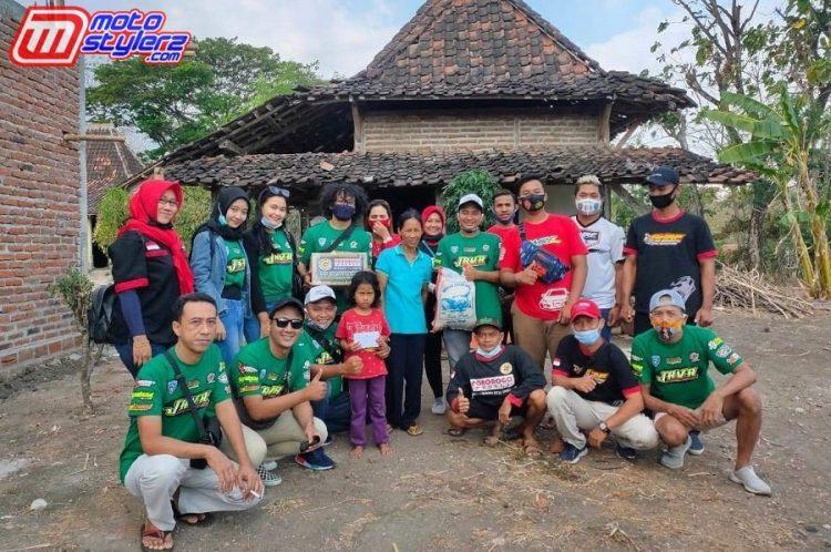 Panitia Java AMRF Drag Bike Series-Kompak Gelar Aksi Sosial & Bantuan Untuk Dhuafa