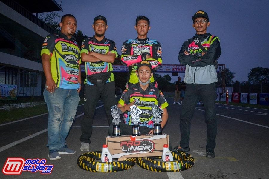 RJMS Aktali Garut-Kembali Jaga Konsistensi Podium Bergengsi Di Momen ARS Racing Championship (Sentul)