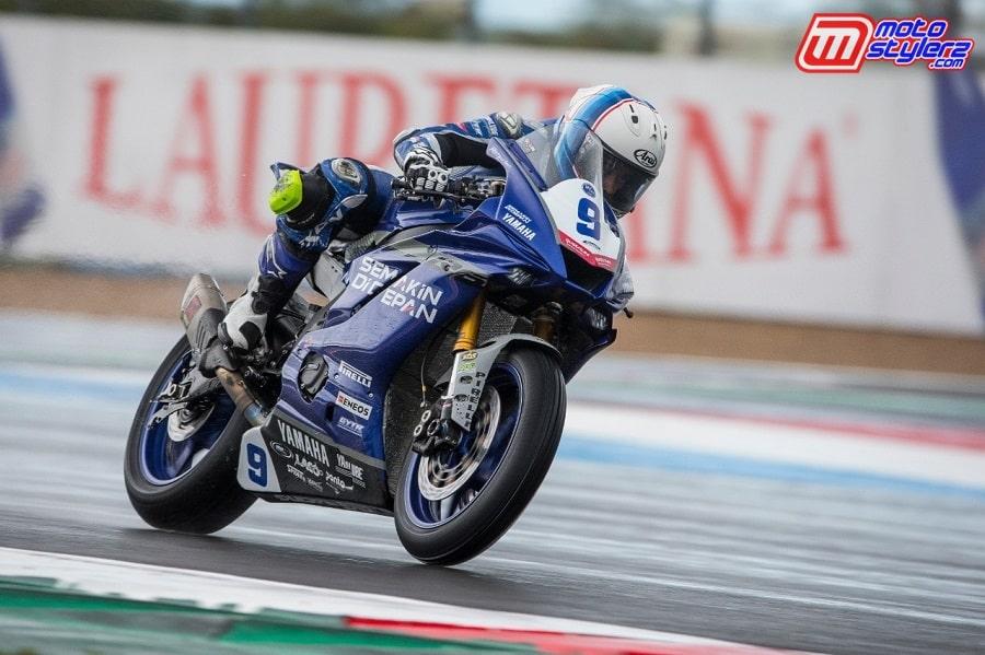 Bareng Motor Yamaha YZF-R6- Galang Hendra Terus All Out Tampil Maksimal