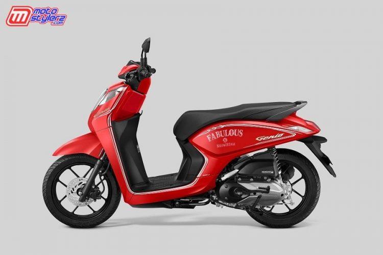 Honda Genio CBS-ISS Fabulous Red