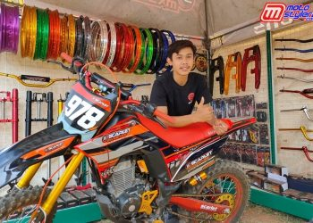 Ari (Koordinator Marketing Scarlet Racing)-Sukses Memperkenalkan Produk Scarlet di Dunia Grasstrack