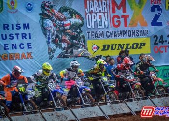 Jabar Open Motocross & Grasstrack Part-2 Sukses di Gelar Di Sirkuit Nyomot Subang