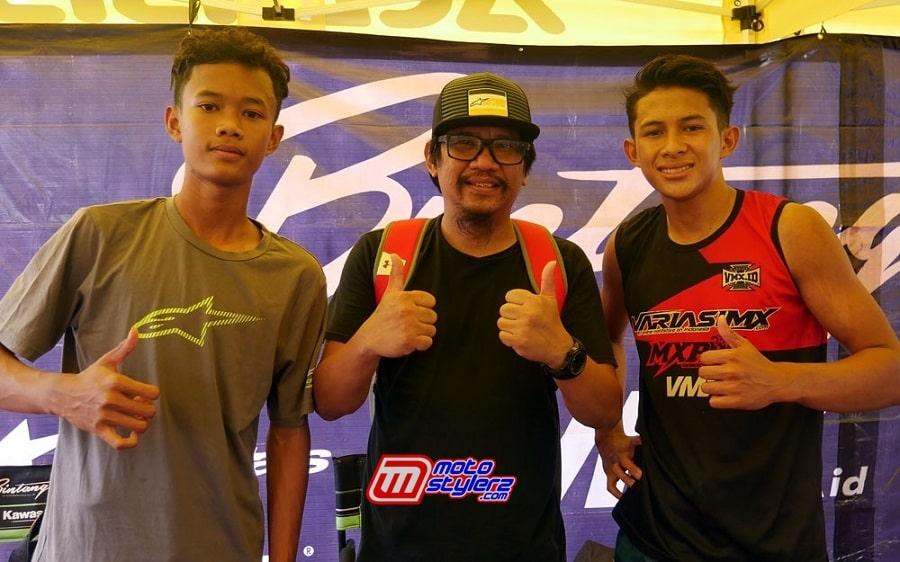 . Nakami, Indra Julius Dari VMX.id & Dwi Panca- Sukses Kuasai Moto 1 kelas MX Junior A