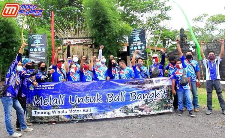 Peserta Touring-Diikuti 30 Member YRFI Bali