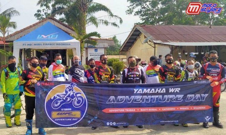 Yamaha WR Adventure Day-Baksos Sambil Terabas, Di Pimpin Kapolres Bangka Barat, Di Dampingi Perwakilan Yamaha Babel & Bangka Barat