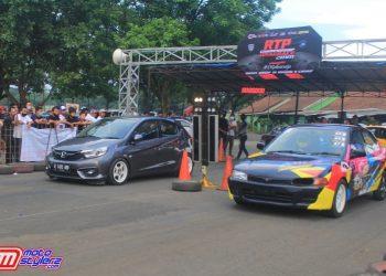 300 Stater Sukseskan RTP Dragrace Cimahi
