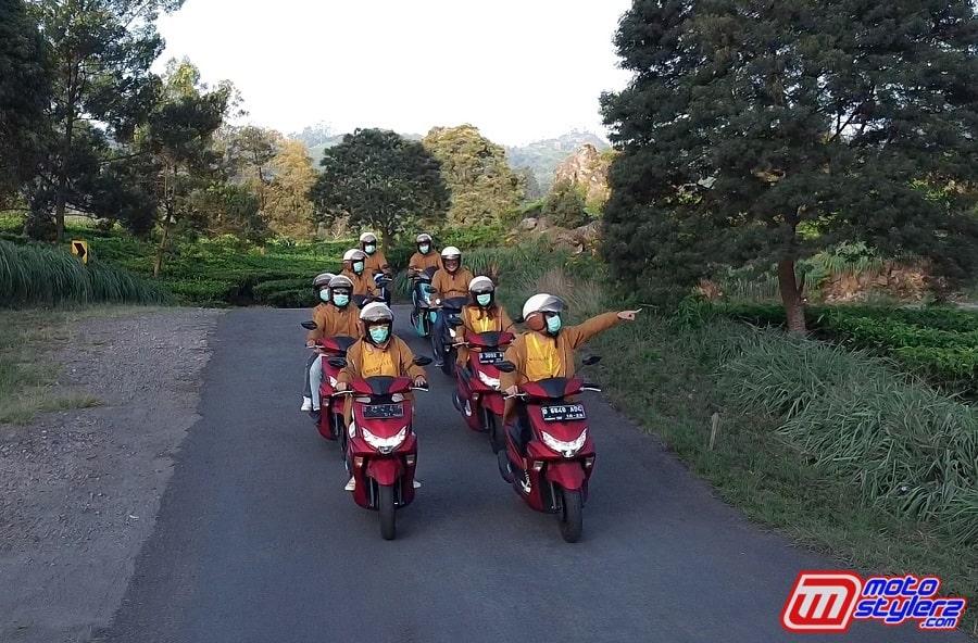 Nikmati Keindahan Alam-Jadi Pengalaman Touring Generasi 125, Tetap Mengedepankan Safety Riding