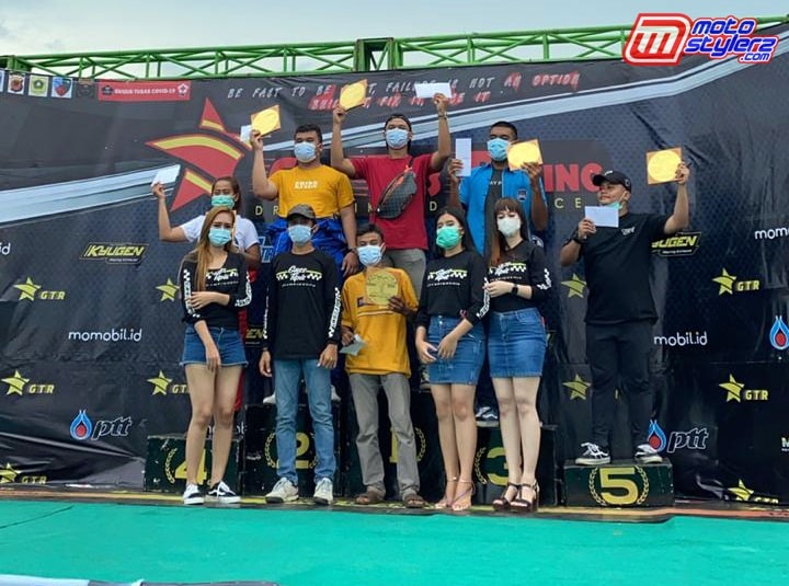 Para Juara Kelas Bracket 10 Detik