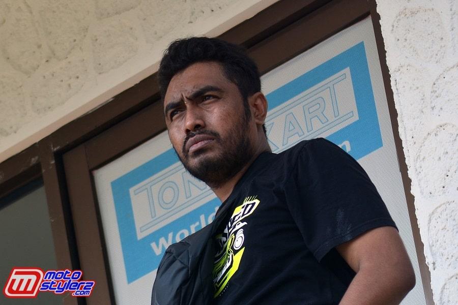 Rafael Selaku Humas & Juga Manager Laturama Racing Team