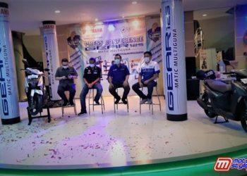 Main Dealer PT Lautan Teduh Gelar Lounching GEAR 125