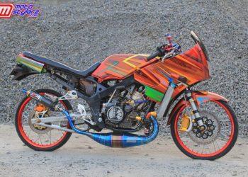 Ninja R Milik Bro Andre-Sentuhan Racing Special Feat Fashion Style