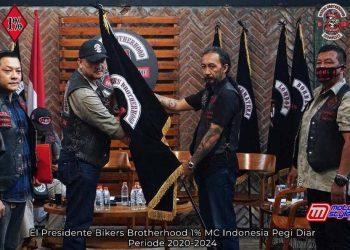 Pegi Diar Terpilih Lagi Menjadi El Presidente BB1%MC Indonesia-Siap Memimpin Untuk Periode 2020 Hingga 2024