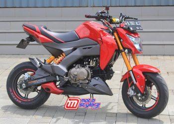 Kawasaki Z125 Pro by OHS Modification