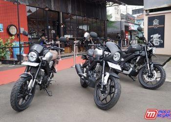 XSR 155 Custom Bareng Aksesoris Resmi Yamaha (Sport Heritage, Cafe Racer, Tracker)