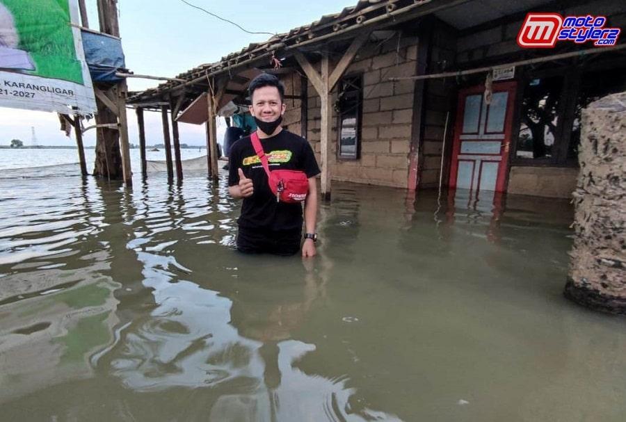 Desa Karanglinggar-Menjadi Fokus Pemberian Sembako