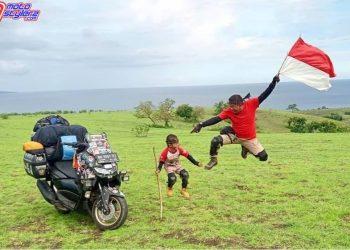 Lilik Gunawan dan Balda-Kembali Harumkan Indonesia Di Moment Ride to East Bareng All New NMAX 155 Connected-ABS