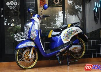 Scoopy Thailook Pemula by IBI Modified
