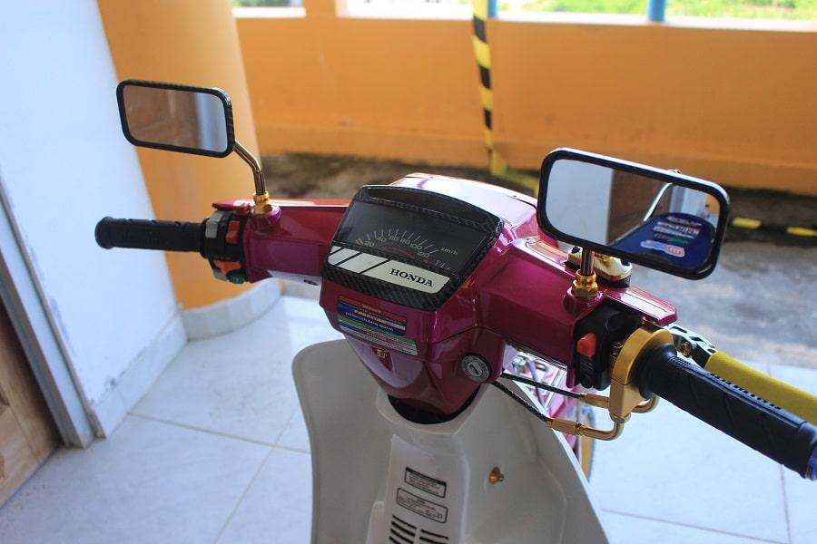 Cover Spidometer-Berlapis Karbon, Asesonya Top